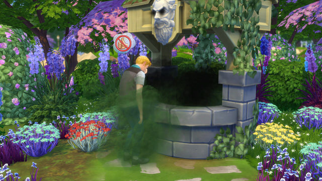 The Sims 4 Romantic Garden Stuff Wishing Well